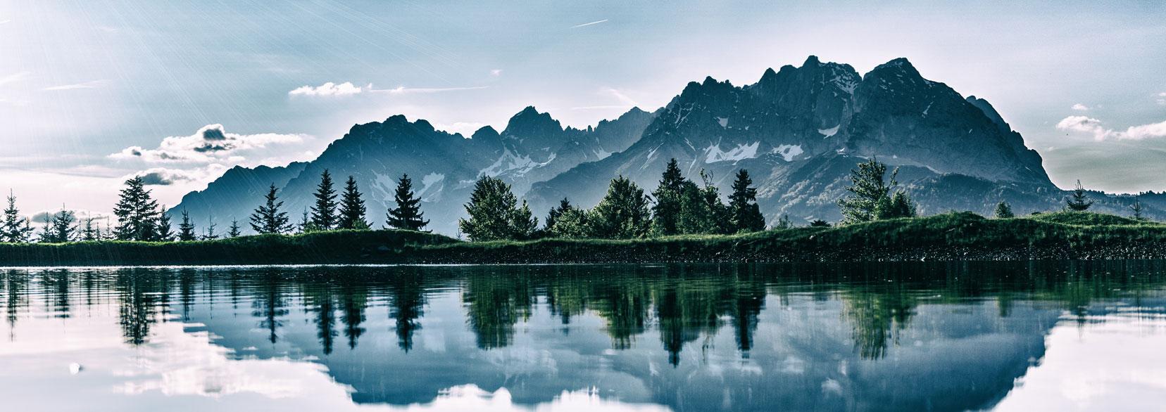 Inspiring Mountain Range